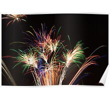 Fireworks at Hinxworth Poster