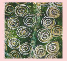 Abstract Circles  Kids Tee