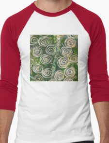 Abstract Circles  Men's Baseball ¾ T-Shirt