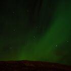 Illuminated Night Sky by Ólafur Már Sigurðsson