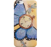 Clockwork Butterfly (case design) iPhone Case/Skin