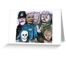 Toy Convention 3 Greeting Card