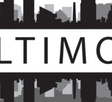 Baltimore Maryland Sticker