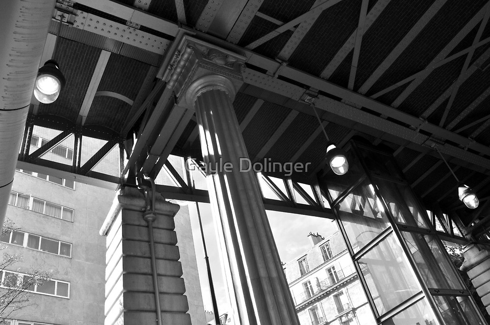 Paris - Under the Metro I by Gayle Dolinger