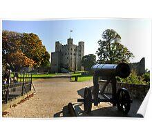 Rochester Castle  Poster