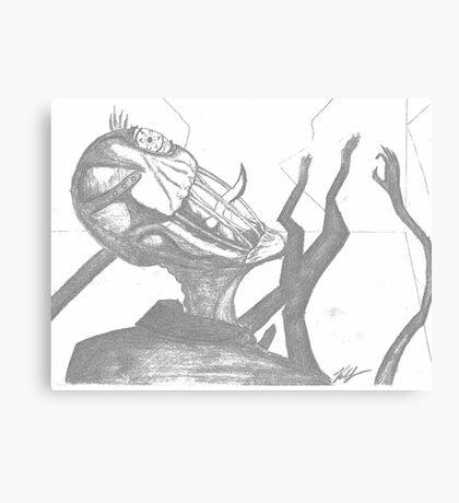 Slender Man  Canvas Print