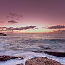 Little Bay Sunrise by Mark  Lucey
