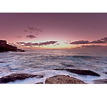 Little Bay Sunrise Photographic Print