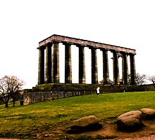 Columns in Edinburgh by keyconcept