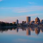 City of Rochester at Dusk by Jeff Palm Photography