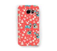 Holiday Pugs in Sweaters Samsung Galaxy Case/Skin