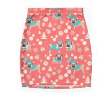 Holiday Pugs in Sweaters Pencil Skirt