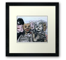 call the cops! Framed Print
