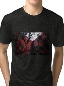 Spiritual Uluru Tri-blend T-Shirt
