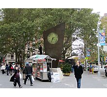 Timesculpture at Lincoln Center, NYC Photographic Print