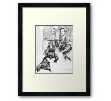 Heedless Framed Print