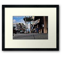 """"""" Missing """" Framed Print"""