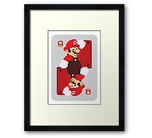 King of Shrooms Framed Print