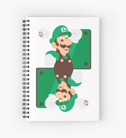 King of Ghosts Spiral Notebook