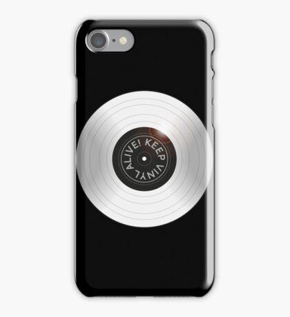 Vinyl Alive iPhone Case/Skin