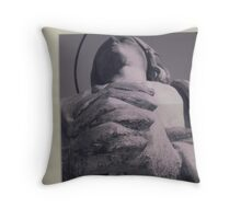 Strong Hands Throw Pillow