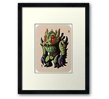 Astro King Framed Print