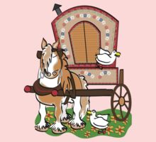 Gypsy Vanner T-shirt by Diana-Lee Saville