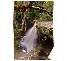 Somersby Falls 6-11-10 (unnamed 3m fall) Poster