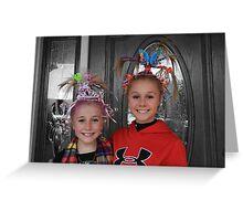 Girlie Girls Greeting Card
