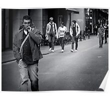 Man on a Mission Poster