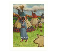 Blackfoot Indians Art Print