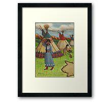 Blackfoot Indians Framed Print