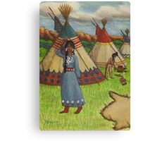 Blackfoot Indians Canvas Print