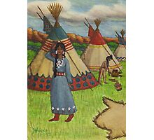 Blackfoot Indians Photographic Print