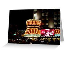 Night Lights in Vegas    ^ Greeting Card