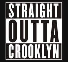 STRAIGHT OUTTA CROOKLYN Kids Tee
