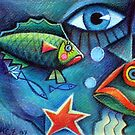 Hello fishies 2 by Karin Zeller