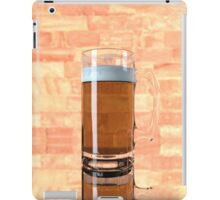 a glass of beer  iPad Case/Skin