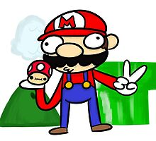 Mario by CueBert