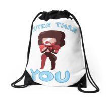 Cuter than you Drawstring Bag