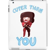 Cuter than you iPad Case/Skin