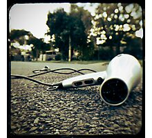 stuff on the road - hairdryer Photographic Print