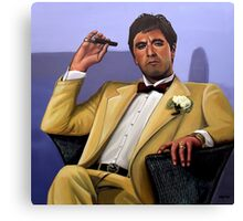 Al Pacino painting Canvas Print