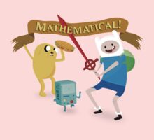 Mathematical Adventure Time! Kids Clothes