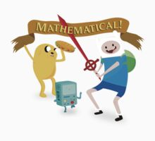 Mathematical Adventure Time! Baby Tee