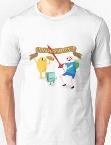 Mathematical Adventure Time! Unisex T-Shirt