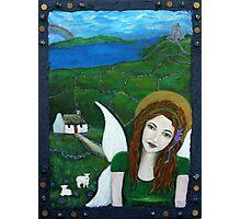 Fiona An Irish Earthangel Photographic Print