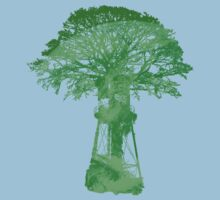 EarthTreeTower T-Shirt