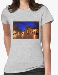 Impressions of Venice - Wandering Around the Secret Squares Womens Fitted T-Shirt