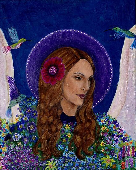 Mary the Imaginative Angel by Earthangels